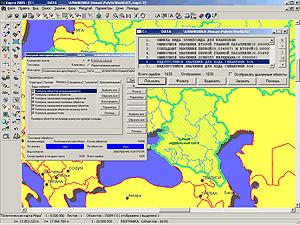 Контроль качества электронной карты