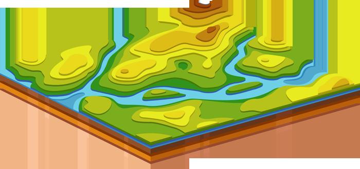 трехмерная карта